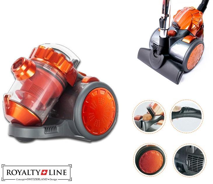 Ηλεκτρική Σκούπα με σύστημα Cyclon Royalty Line BSCM-1600W.65NE μικρές οικιακές συσκευές