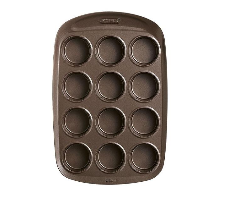 Φόρμα Για Muffins 12 Θέσεων Asimetria Pyrex
