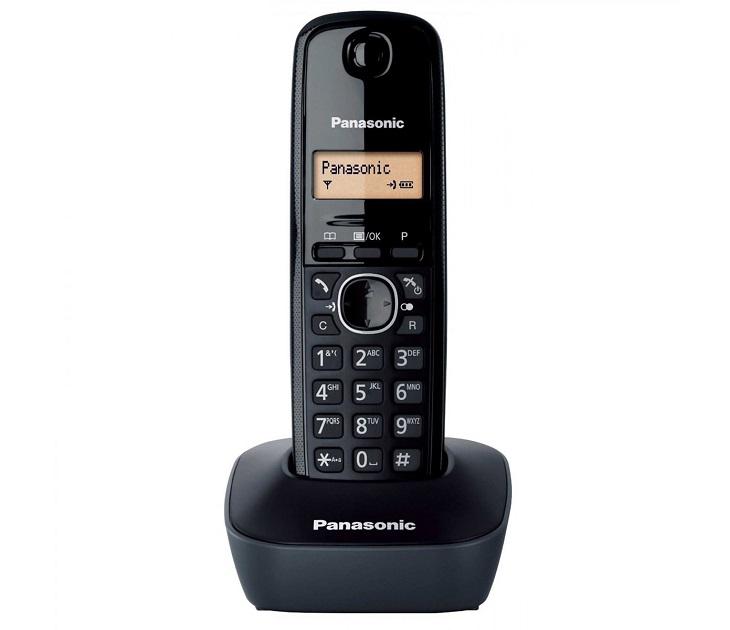 Panasonic Dect KX-TG1611GRH Μαύρο τηλεφωνία