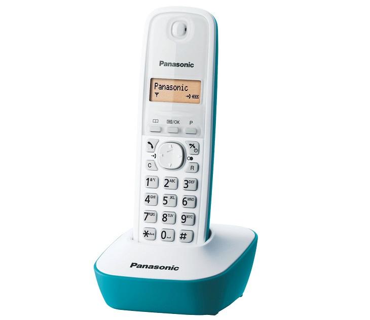 Panasonic Dect KX-TG1611GRC Γαλάζιο τηλεφωνία