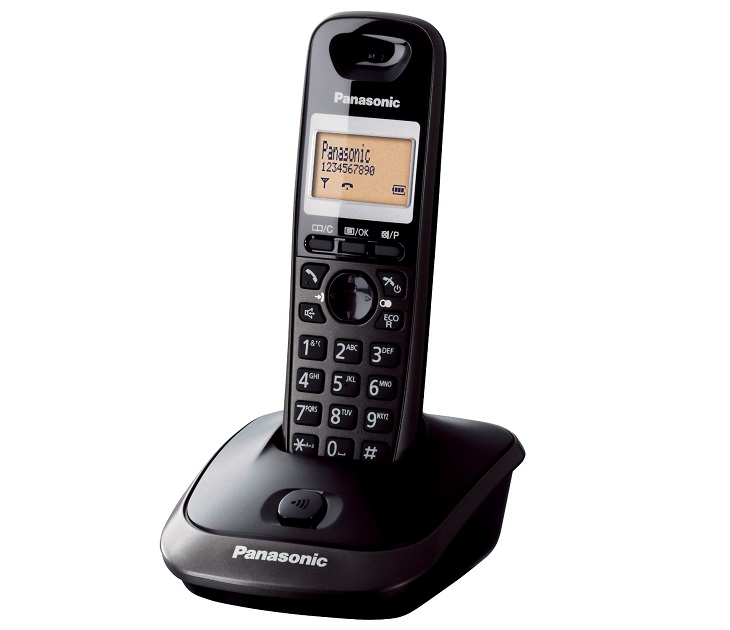 Panasonic Dect KX-TG2511GRT Μαύρο τηλεφωνία