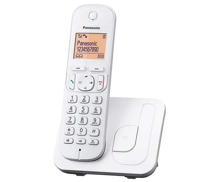 Panasonic Dect KX-TGC210GRW Άσπρο τηλεφωνία