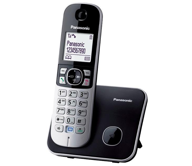 Panasonic Dect KX-TG6811GRB Μαύρο τηλεφωνία
