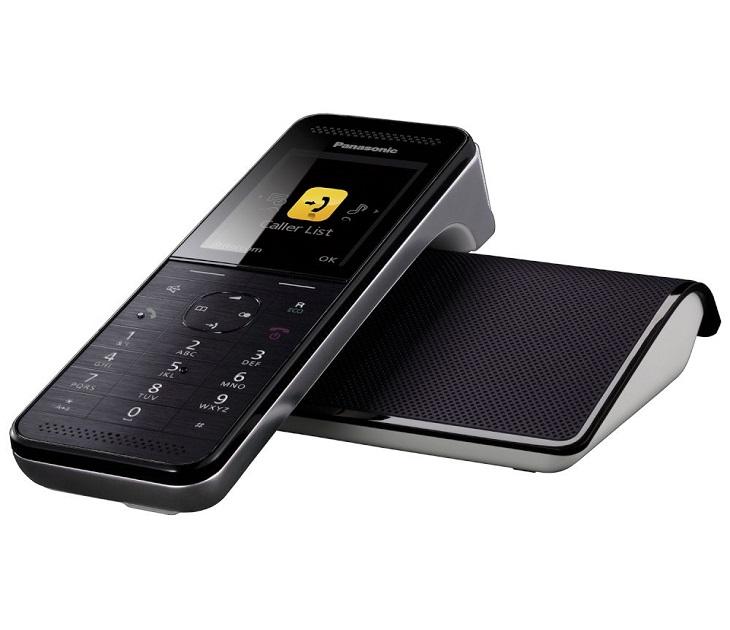 Panasonic Dect Premium KX-PRW110GRW Μαύρο τηλεφωνία