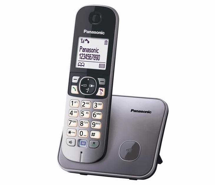 Panasonic Dect KX-TG6811GRA Γκρι τηλεφωνία