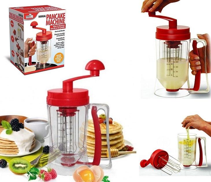 Συσκευή με Αναδευτήρα για Pancakes, Κρέπες & Τηγανίτες OEM είδη σπιτιού