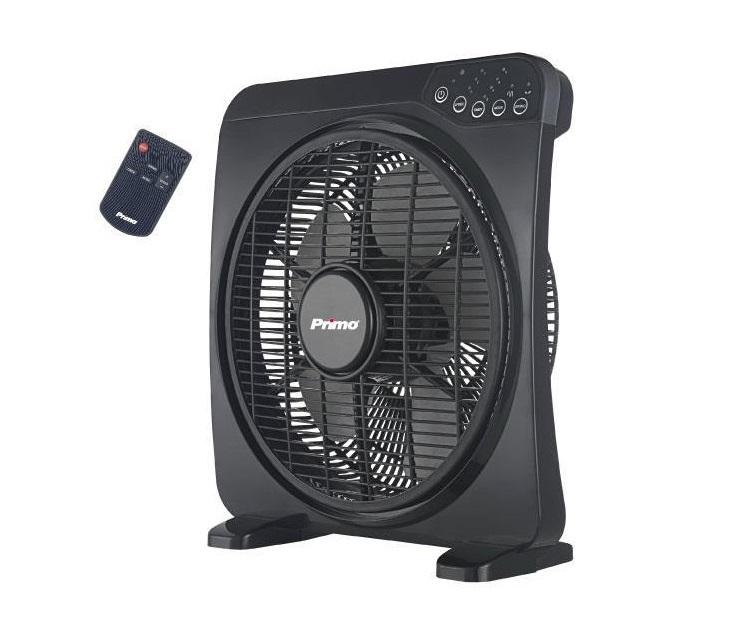 Ανεμιστήρας Box Fan Primo KYT-12DRII 30εκ με Τηλεχειριστήριο είδη θέρμανσης   ψύξης