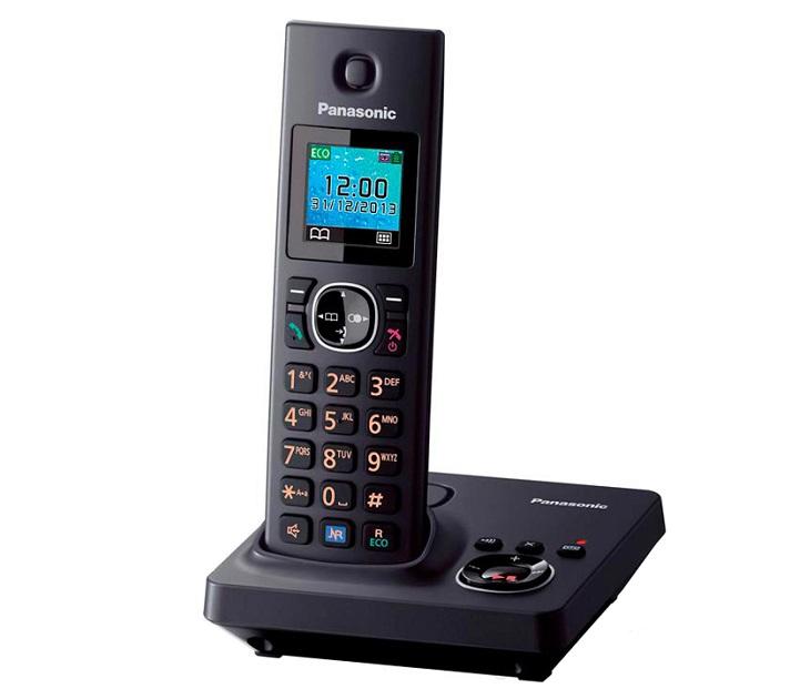 Panasonic Dect KX-TG7861GRB Μαύρο τηλεφωνία