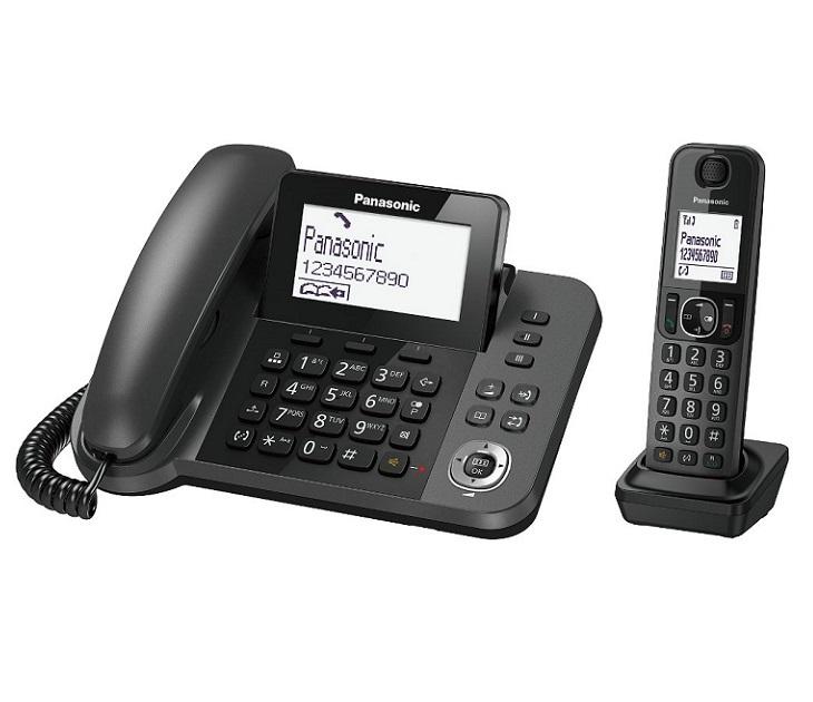 Panasonic Dect KX-TGF310EXM Μαύρο τηλεφωνία