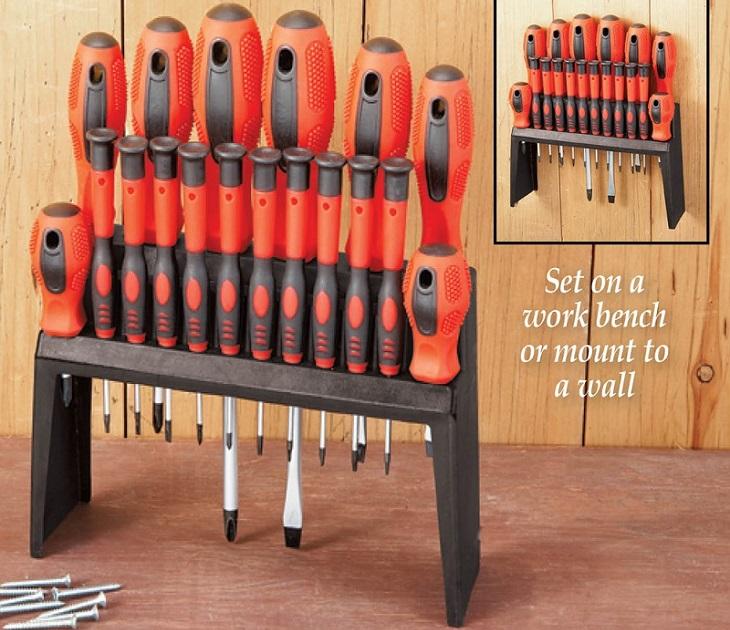 Σετ Κατσαβιδιών με Βάση 18 τεμάχιων SDY-120006 OEM εργαλειοθήκες   σετ εργαλεία