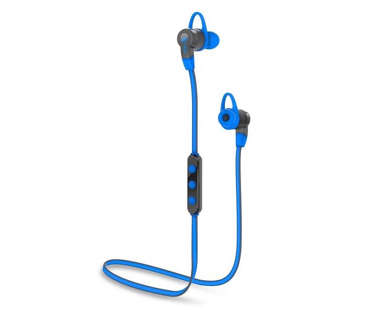 Ακουστικά Bluetooth i-Tech Musicband 6300 (Μπλε - Γκρι) ήχος   εικόνα