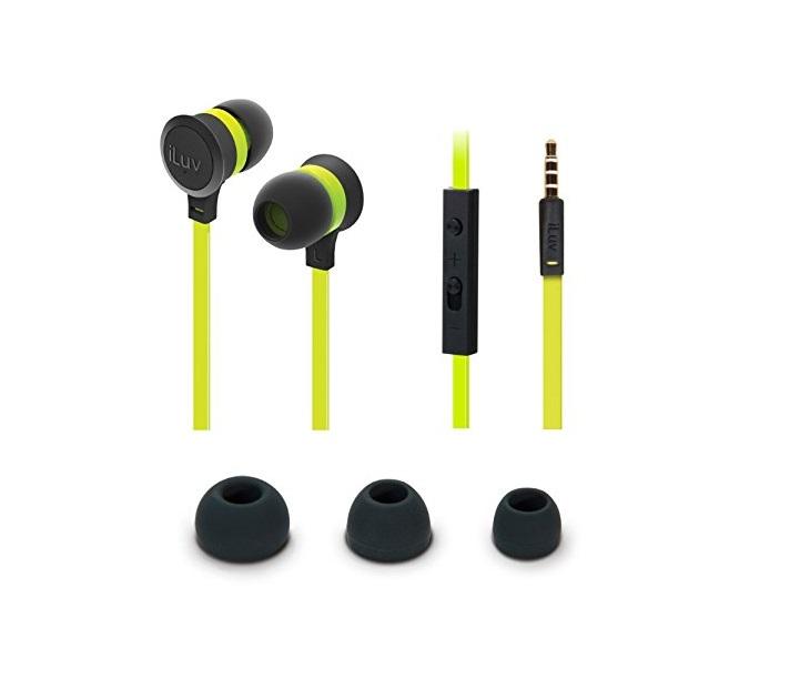 Ακουστικά Handsfree iLuv Neon Sound iEP336 (Πράσινα) ήχος   εικόνα