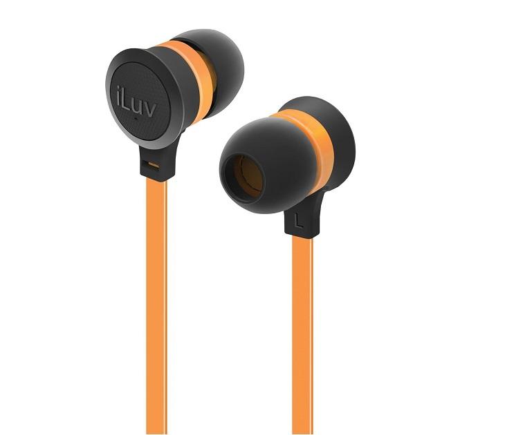 Ακουστικά Handsfree iLuv Neon Sound iEP336 (Πορτοκαλί) ήχος   εικόνα