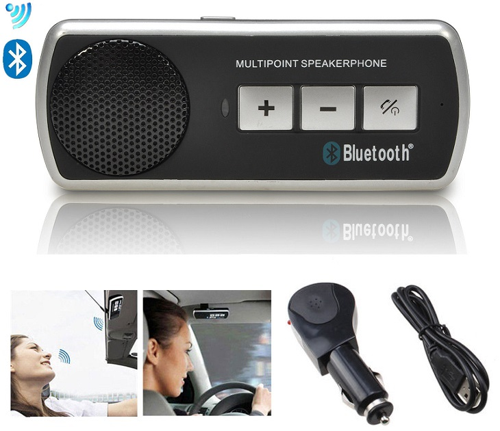"Ασύρματο Hχείο Aυτοκινήτου Bluetooth ""Multipoint"" bluetooth   fm transmitters"