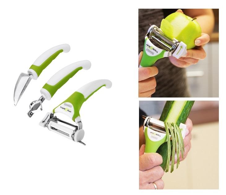 Triple Slicer для нарезки овощей и фруктов в Камышине