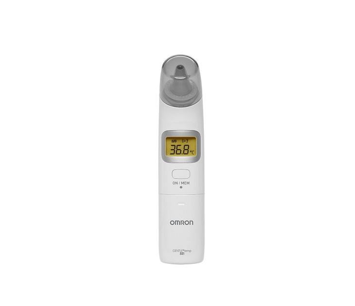 Γρήγορο Ψηφιακό Θερμόμετρο Αυτιού Omron 3 Σε 1 Gentle Temp 521