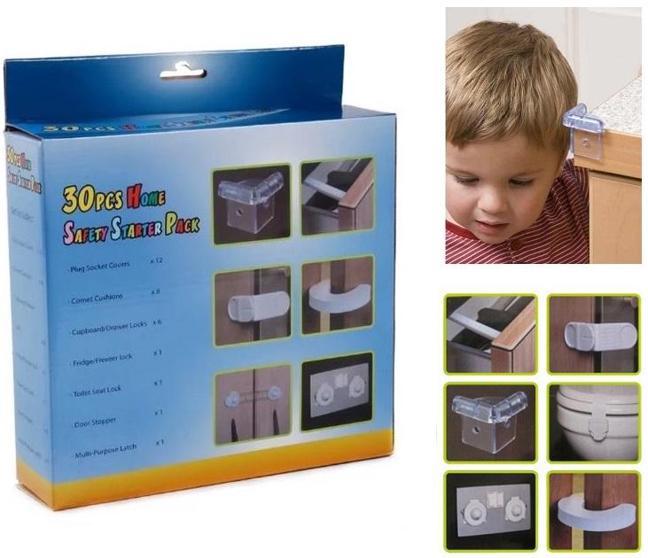 Σετ 30 Προστατευτικά Ασφαλείας Σπιτιού για Βρέφη ΟΕΜ ασφάλεια μωρού