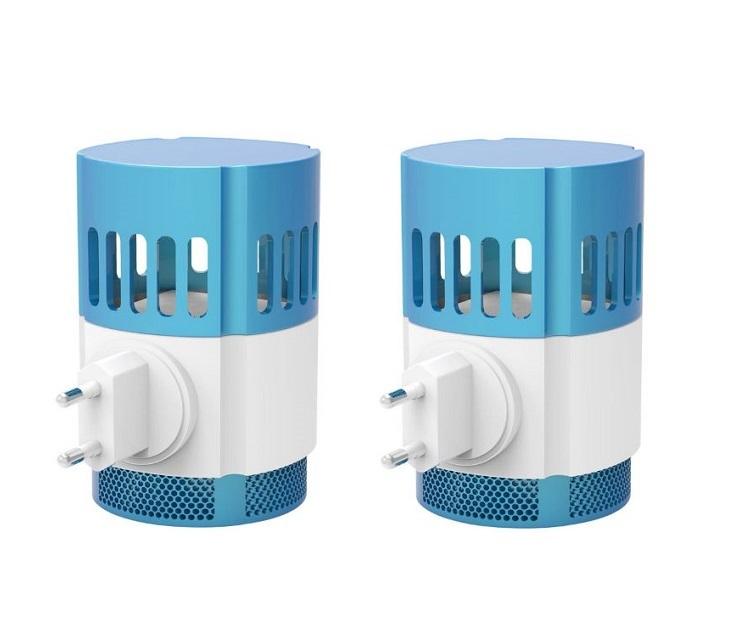 Σετ 2 ηλεκτρικές συσκευές παγίδευσης εντόμων με αναρρόφηση ARDES είδη σπιτιού
