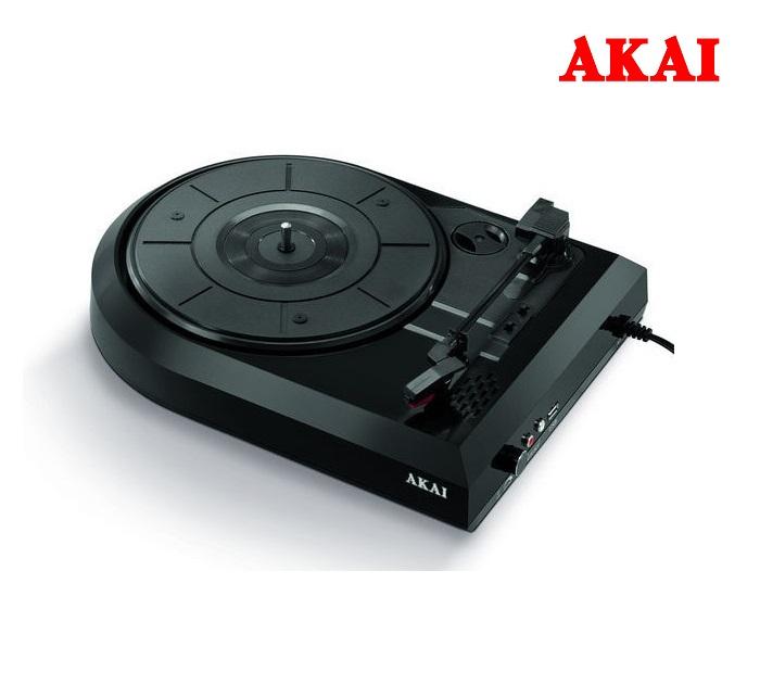 Ψηφιακός Μετατροπέας Δίσκων με Ενσωματωμένο Ηχείο Akai ATT-603 πικάπ