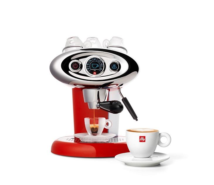 Μηχανή Espresso Illy Iperespresso Francis X7.1 (Κόκκινη) μηχανές καφέ