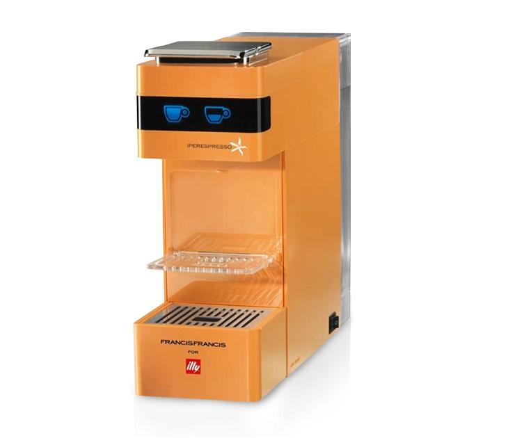 Μηχανή Espresso Illy Iperespresso Y3(Πορτοκαλί)-ΔΩΡΟ 14 Κάψουλες μηχανές καφέ