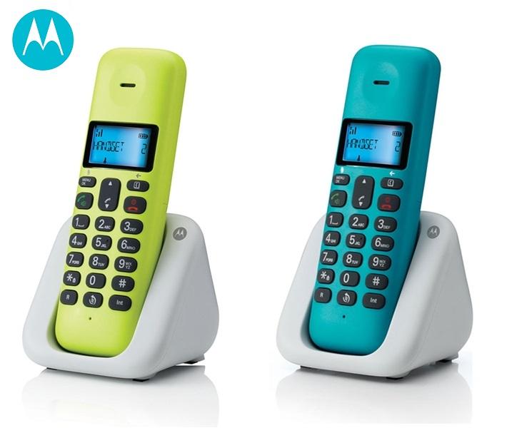 Ασύρματο Τηλέφωνο Μotorola Τ301 Dect με Ανοιχτή Ακρόαση τηλεφωνία