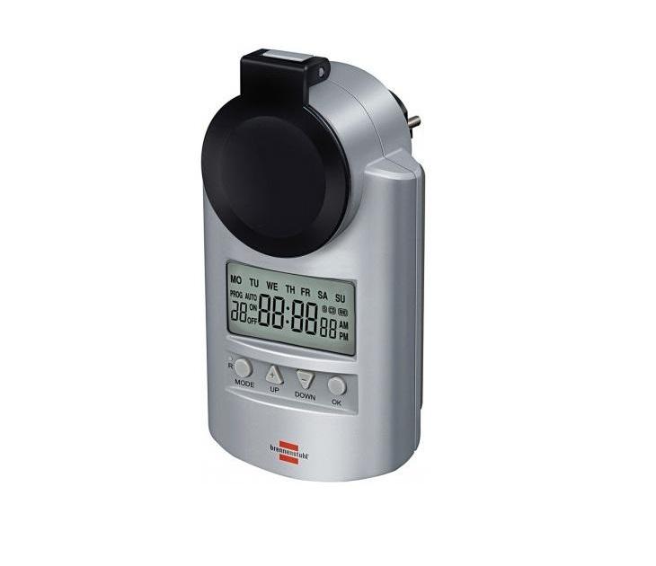 Ημερήσιος Ψηφιακός Χρονοδιακόπτης Brennenstuhl 1507490 ηλεκτρολογικός εξοπλισμός