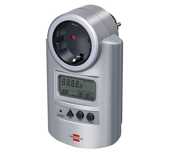 Μετρητής Κατανάλωσης Ενέργειας Brennenstuhl 1506600 2 Ζωνών ηλεκτρολογικός εξοπλισμός