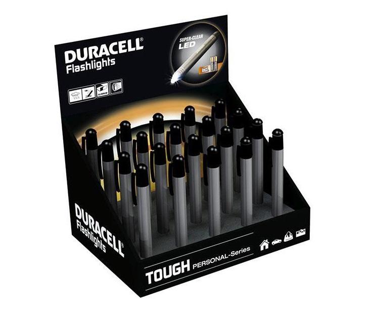 20 Φακοί Duracell PEN-1-Z Αλουμινίου με Προστασία από Κραδασμούς ηλεκτρολογικός εξοπλισμός