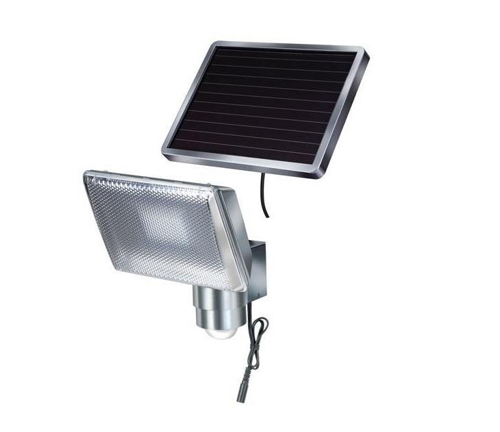 Ηλιακός Προβολέας Αλουμινίου Brennenstuhl με Ανιχνευτή Κίνησης ηλεκτρολογικός εξοπλισμός