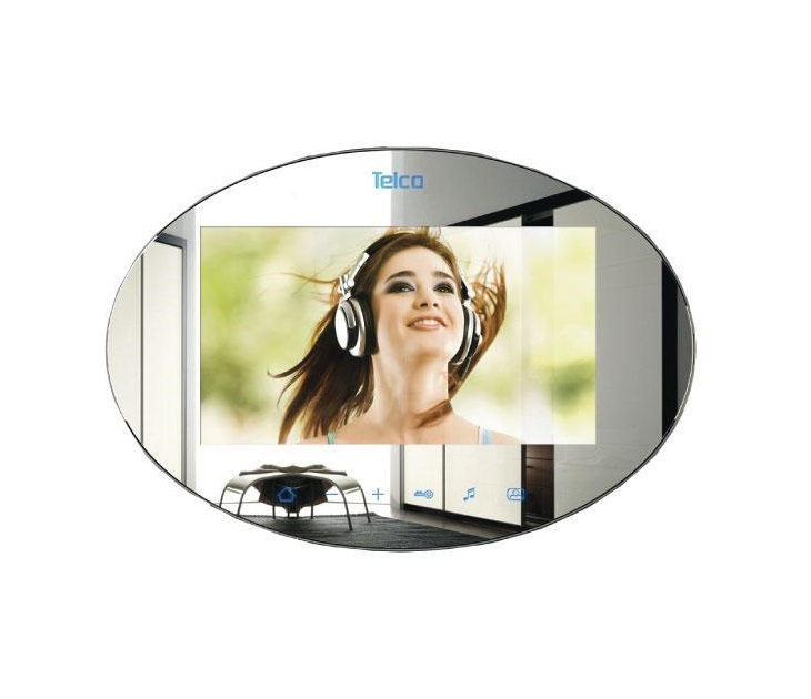 Καθρέφτης Μόνιτορ Θυροτηλεόρασης Telco M479 7'' Extra Panel