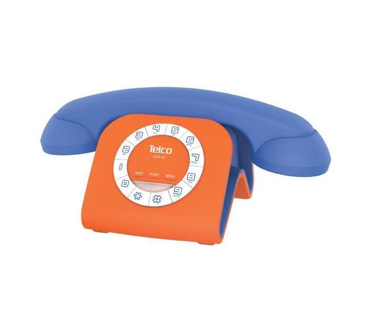 Ενσύρματο Επιτραπέζιο Τηλέφωνο Telco GCE-3100 Jack για Κινητά