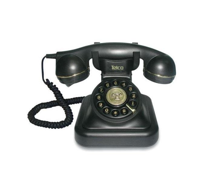 Ενσύρματο Επιτραπέζιο Τηλέφωνο Telco Vintage 20 Retro τηλεφωνία