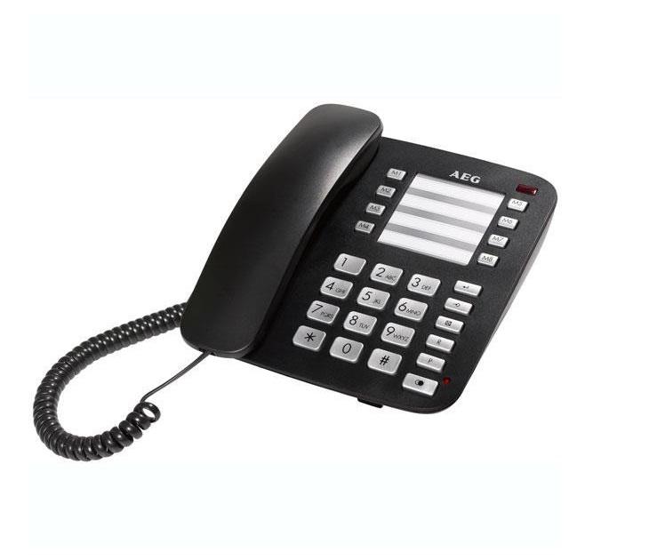 Ενσύρματο Επιτραπέζιο Τηλέφωνο AEG Voxtel C100 τηλεφωνία