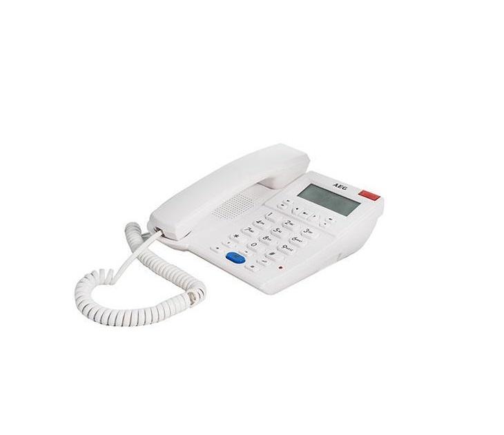 Ενσύρματο Επιτραπέζιο Τηλέφωνο AEG Voxtel C750 (Λευκό) τηλεφωνία