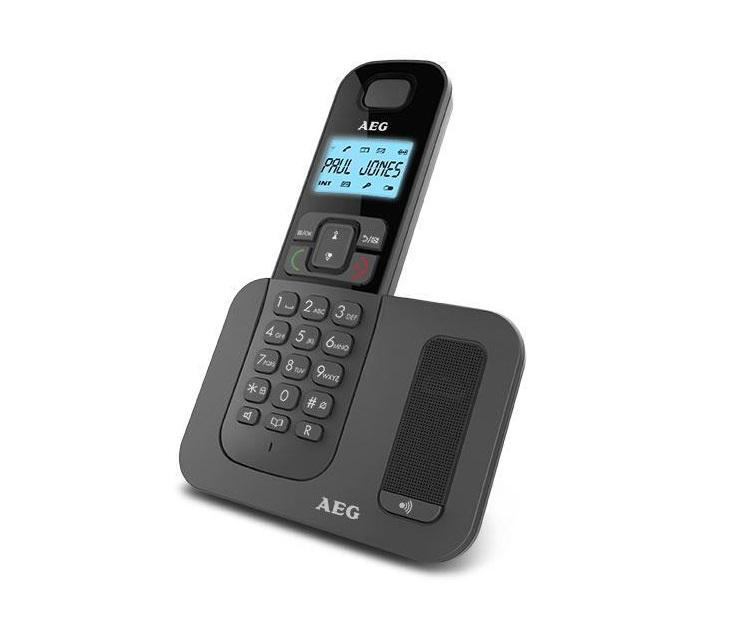 Ασύρματο Τηλέφωνο Dect AEG Voxtel D500 με Αναγνώριση Κλήσης