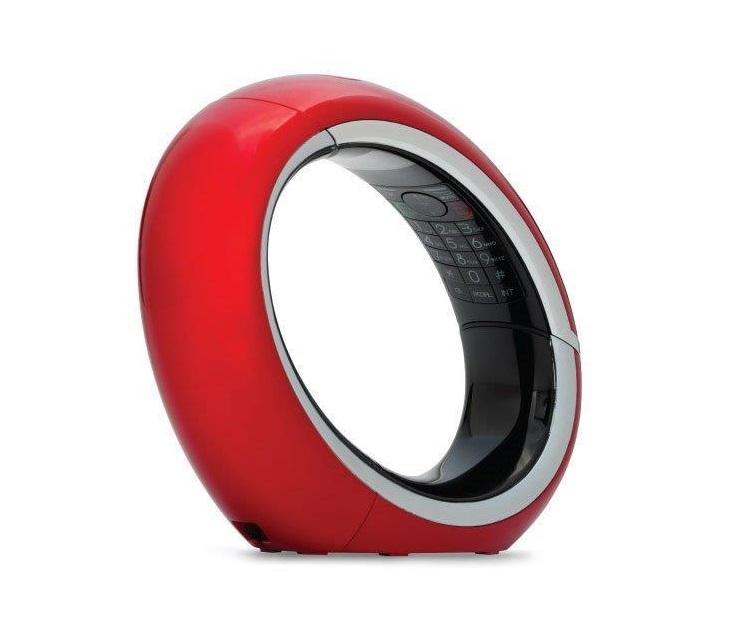 Ασύρματο Τηλέφωνο Dect AEG Eclipse 10 (Κόκκινο) (01.602) ασύρματα τηλέφωνα