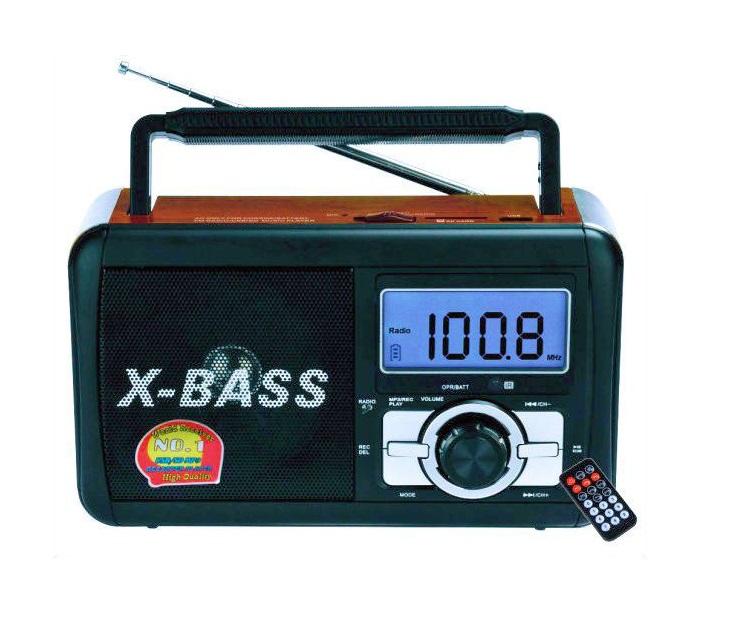 Φορητό Ραδιόφωνο-Recorder, USB/SD, Xbass Speaker FP-910RC ΟΕΜ