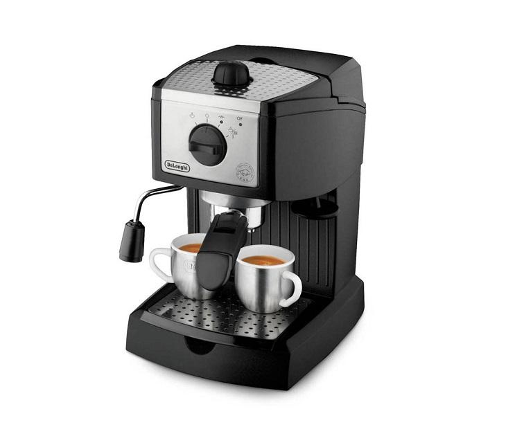 Μηχανή Espresso - Cappuccino Delonghi EC156.B μηχανές καφέ