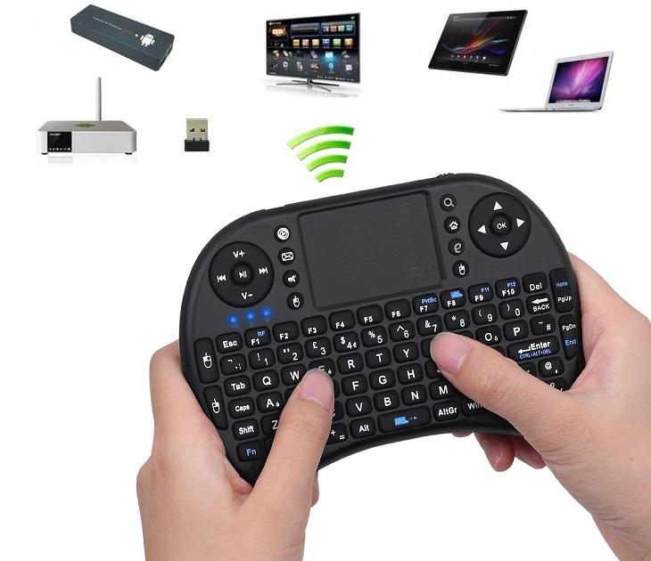 Μίνι Ασύρματο Πληκτρολόγιο για Smartphones/Smart TV OEM UKB-500 smartphone   tablet gadget