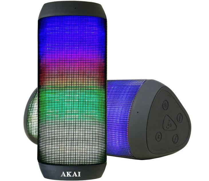Φορητό Ηχείο Bluetooth με LED που Aντιδρούν στη Mουσική ABTS-900