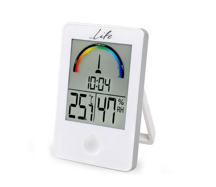 Ψηφιακό Θερμόμετρο/Υγρόμετρο με Ρολόι LIFE WES-101 είδη σπιτιού