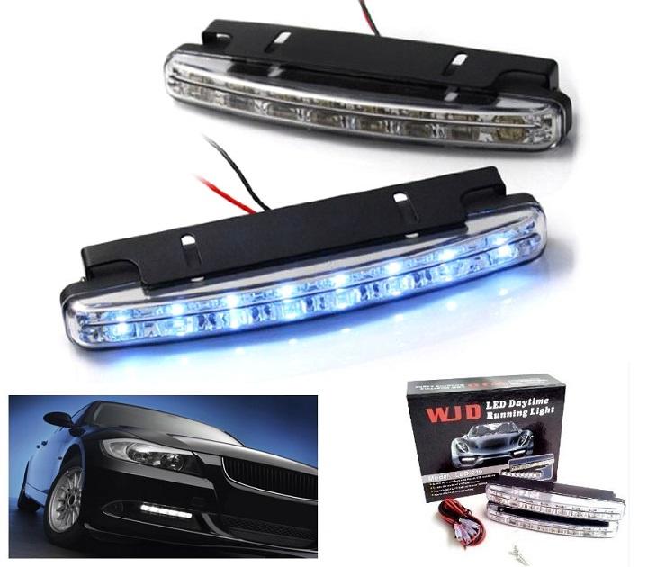 Προβολάκια - Φώτα Ημέρας Αυτοκινήτου Σετ 2 τμχ WJD LED-240 gadgets