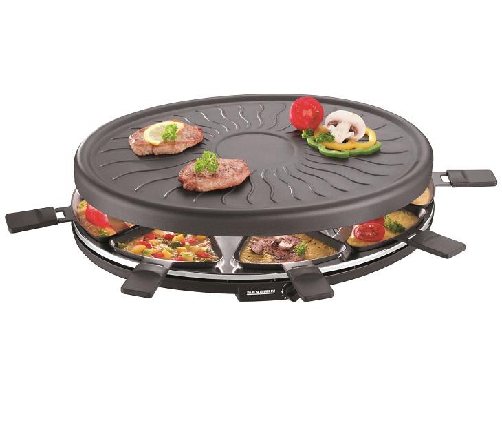 Ρακλέτα Severin Party Grill RG 2681 (1100w) σκεύη μαγειρικής