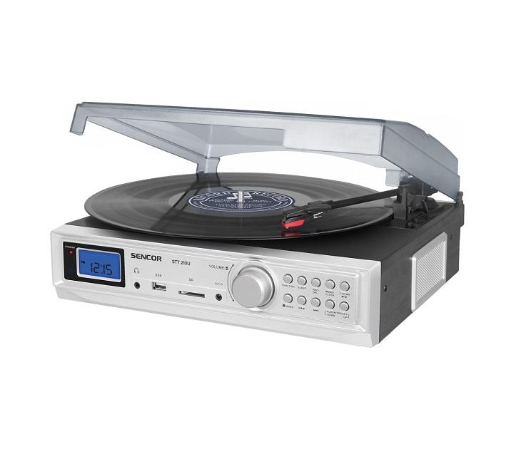 Πικάπ Sencor STT 210U ήχος   εικόνα