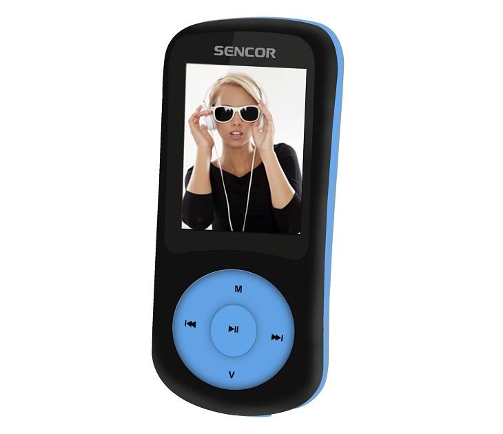 MP3/MP4 Player Sencor SFP 5870 BBU (Μαύρο - Μπλε) media players