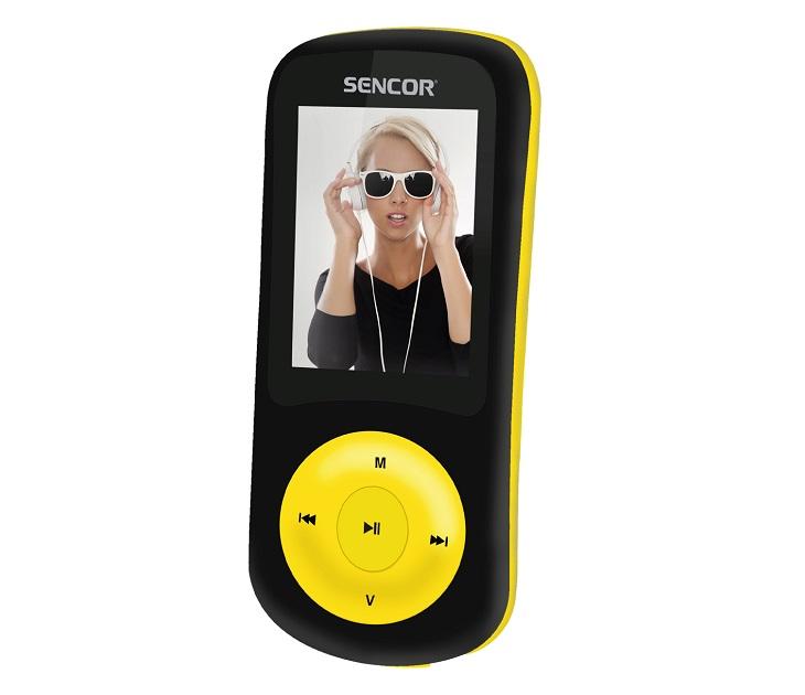 MP3/MP4 Player Sencor SFP 5870 BYL (Μαύρο - Κίτρινο) media players