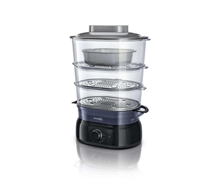 Ατμομάγειρας Philips Daily Collection HD9126/00 9lt (900W) σκεύη μαγειρικής