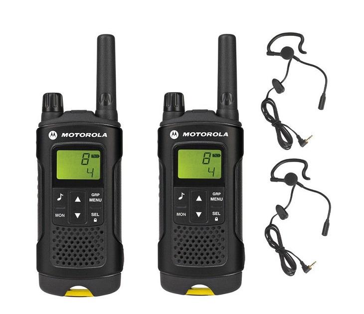 Walkie-Talkie MOTOROLA XT180 με Ακουστικά, Φακό & Εμβέλεια 10km gadgets