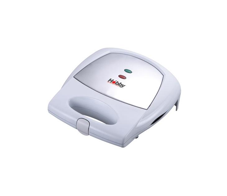 Σαντουϊτσιέρα Hobby ST-09 White Inox Αποσπώμενες Αντικολλητικές μικρές οικιακές συσκευές